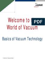 Basic Vacuum Introduction