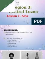 Aeta Report