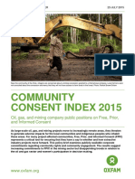 Community Consent Index 2015