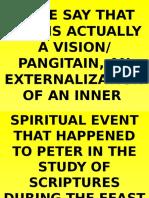 2nd lent- transfiguration of jesus