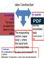 Basic Evaporator Construction