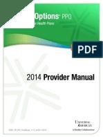To PPO-2014 ProviderManual