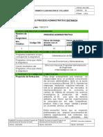 Syllabus Proceso Administrativo