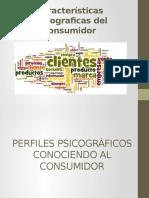 Características Psicograficas Del Consumidor