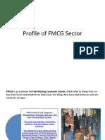 Profile of FMCG Sector