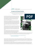 As Guerras de Rosina Parchen _ José Carlos Fernandes _ Gazeta Do Povo