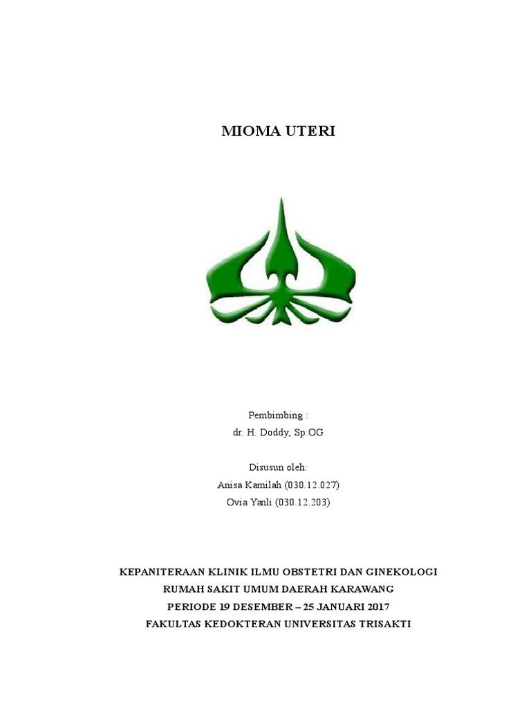 Mioma Uteri Referat Final