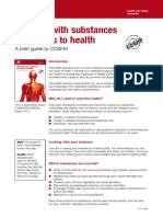 Control of Substances Hazardous to Health HSE 2002