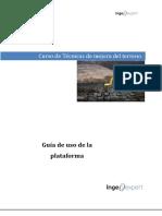 Guía Uso Plataforma Técnicas