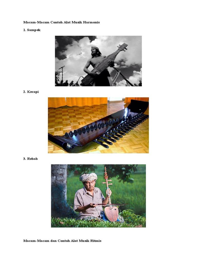 Gambar Alat Musik Ritmis Melodis Harmonis