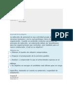 Evaluacion Gestion de Personal UNAD MARZO 2017