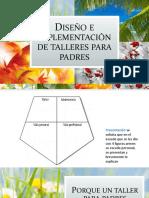 Diseño e Implementación de Talleres Para Padres