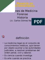 Nociones de Medicina Forense