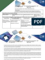 Guía de Actividades y rúbrica de calificación – Fase 2 – Vectores, matrices y determinantes