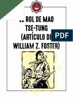 08 El Rol de Mao Tse-tung