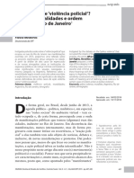 Aula 11 Medeiros Violência Policial Direitos Moralidades RiodeJaneiro Dilemas 2015