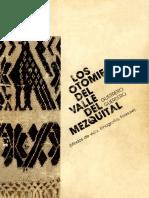 """""""Otomíes del Valle del Mezquital"""", autor"""