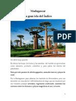 Madagascar La Gran Isla