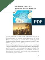 Historia de Grandes Descubrimientos Geograficos