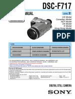 Service Manual Sony Dsc f717 l2