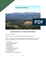 Landscape metrics (Métricas del paisaje)