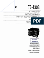 Kenwood TS-430S User's Manual