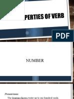 Properties of Verb
