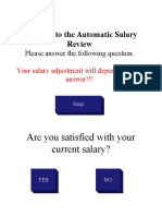 Salary Review Questionaire