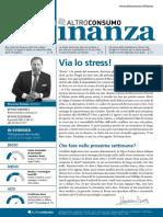 Altroconsumo Finanza - 26 Luglio 2016