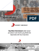 Sony Music Entertainment and the Evolution (PPT)