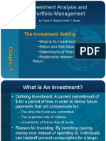 Investment Analysis and Portfolio Managemnet by Frank K. Relly & Keith C. Brown01 Iapm9e Ppt_ch01