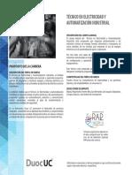 Tecnico en Electricidad y Automatizacion Industrial