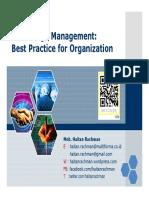 Km Bestpracticesfororganization Unpad 24-01-2011 110123190044 Phpapp02