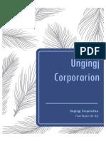 ungingj corporation  pdff