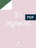 365 Inspirações Milene Da Mata