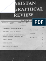 Pakistan Geographical Review 1964 Vol. 19 No. 1