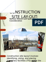 Construction Site Lay-out