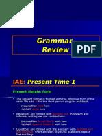 IAE Grammar 1 Present Time