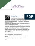 Cultura Del Desecho de Eduardo Galeano