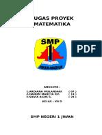 Tugas Proyek Matematika 3