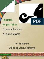 Lengua Materna 21 Febrero