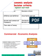 Economic Analysis of Field Development