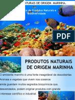 Produtos Naturais de Origem Marinha