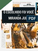 O Escolhido Foi Você - Miranda July