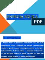 Slide sobre Energia Eólica
