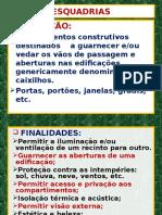 Esquadrias Aula 2016