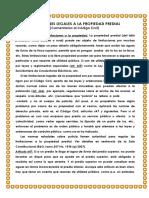 Comentarios Codigo Civil Limitaciones Legales de La Propiedad Garay Tema 8