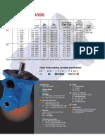 Catalog Vane Pump