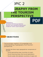 TOPIC 2_Geography From Tourism Perspective