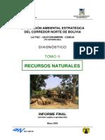 Evaluacion Ambiental Estrategica Del Corredor Norte de Bolivia Diagnostico